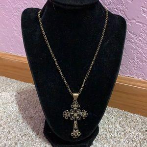 Lia Sophia black cross